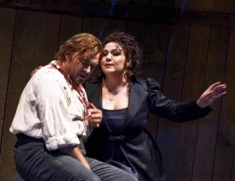 Cavaradossi och Tosca