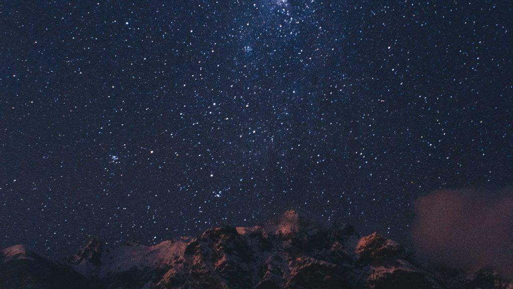 stjernehimmel, stille natt